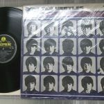 ビートブームのメニューの写真 - Beatles HARD DAYS NIGHT UK STEREO Yellow Black Label