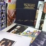 ビートブームのメニューの写真 - Beatles Collection FRANCE Blue BOX13LP