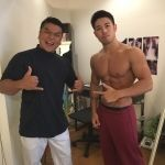 fitness you tuber のカネキンさんがご来院!